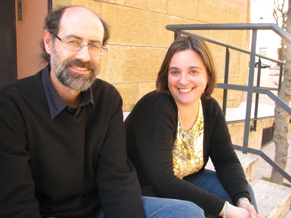 Jordi López i Diana Gorostidi