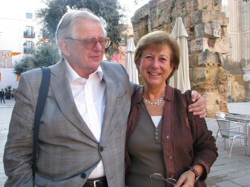 Géza Alföldy i Isabel Rodà