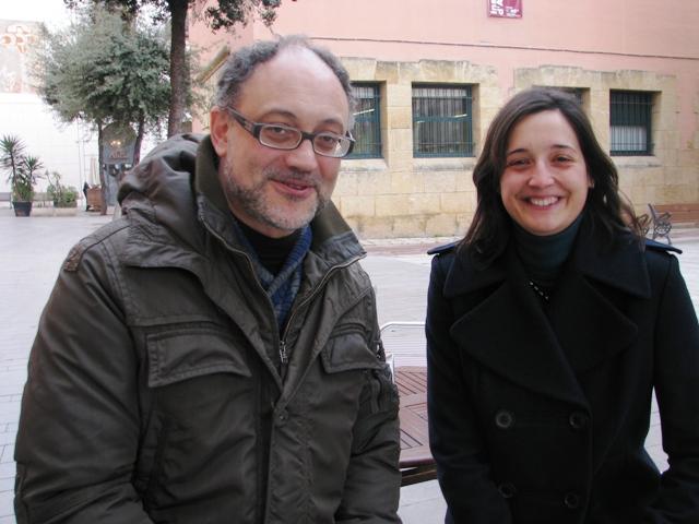 Jesús Carruesco i Judit Ciurana