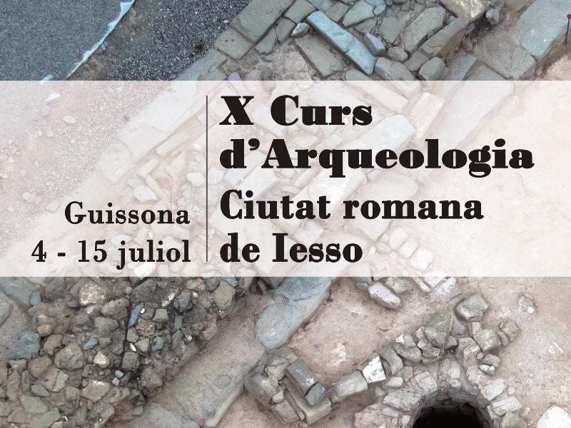 X Curs Arqueologia Guissona