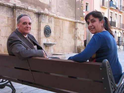 Josep Guitart i Esther Rodrigo