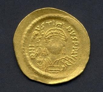 Solidus d'or de Justinià I