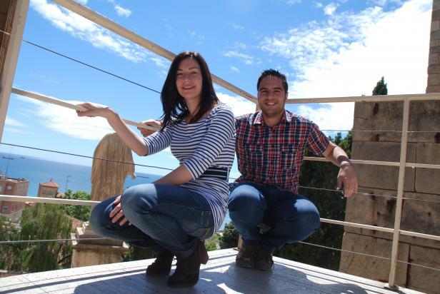Patrícia Terrado i Adrià Muñoz