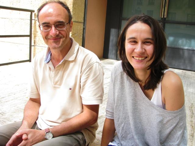 Josep M. Palet i Tania Polonio