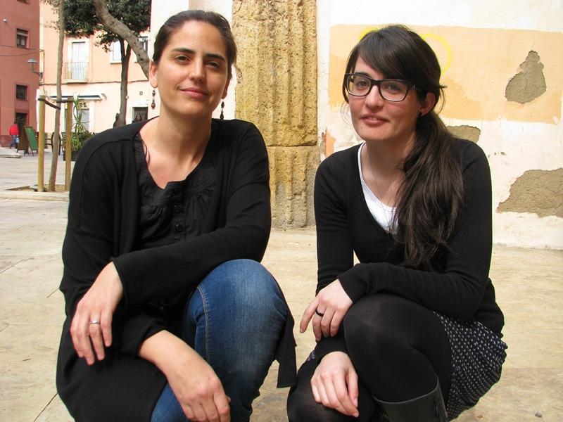 Lucía López-Polín i Anna Bertral