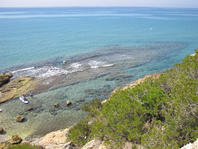 Roca Plana, moll del Mèdol